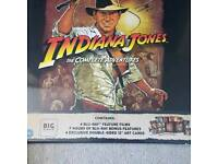 Indianna Jones Collection - Limited Edition Big sleeve Blu-ray SEALED