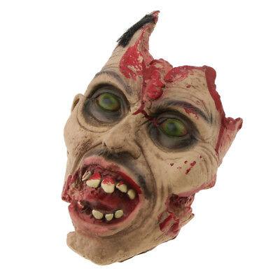 Halloween Horror Hirnlose Kopf Maske Scary Dress Up Maskerade Party Masken ()
