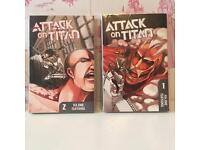 MANGA   Attack on Titan & Death Note
