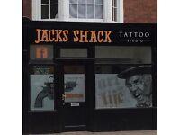 Jacks Shack Tattoo Studio 15% off