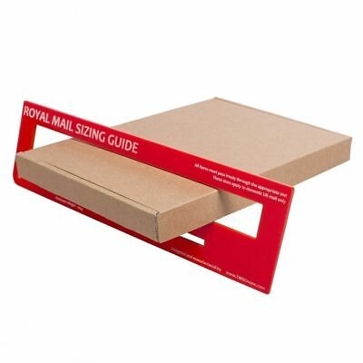 50 - Small Postage - Qualify as Large Letter - DL Quality Brown Cardboard Box