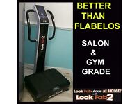 RETAILED @ £2000, SAME AS FLABELOS, LOOK FAB 2 LF2 VIBRATION VIBRATING POWER PLATE MACHINE