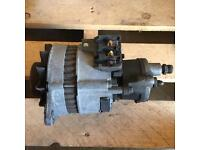 MK5 Ford Transit Alternator with Oil Pump Smiley Face