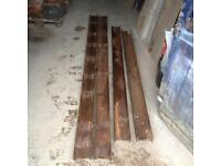 Steel Lintels 10ft H beams structural support