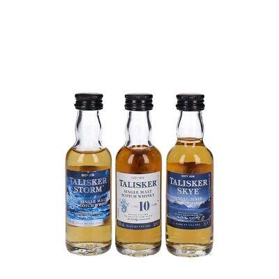 Talisker Probierset Single Malt Scotch Whisky 3 x 0,05 L