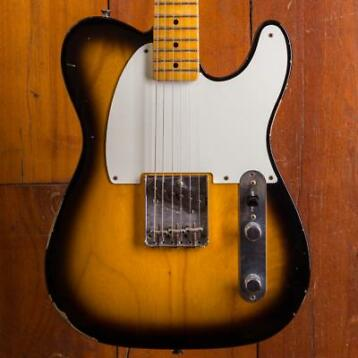 Fender CS 1955 Ltd Relic Esquire Two-Tone-Sunburst
