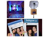 Photo Booth & Dj £499 + social media personal fun board