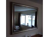 Lovely gold framed mirror. Bargain