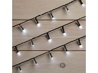New Boxed 240 LED String Lights White Was: £32