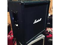 Marshall 4x12 guitar cabinet