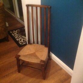Antique Welsh Nursing Chair