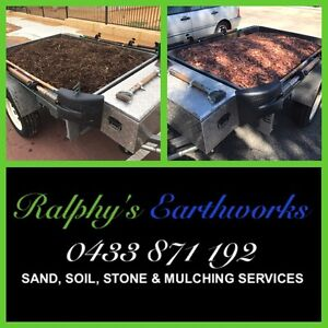 Sand, Soil, Stone & Mulching Services SOR Forrestdale Armadale Area Preview