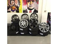 """17"""" 18"""" 19"""" 20"""" 21"""" BMW TRANSPORTER CAR VAN X5 M SPORT STYLE ALLOYS WHEELS + TYRES ONLY 649 FITTED"""