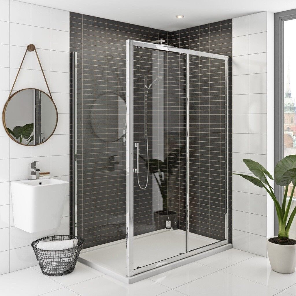 Shower Enclosure. Rand 8mm easy clean 1200 * 700 brand new, boxed, L ...