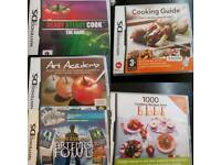 7 Nintendo DS Games