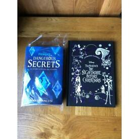 Disney books nightmare before Christmas and frozen 2 brand new unused