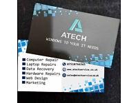 Pc Repair, IT Support, Web design, Photoshop,