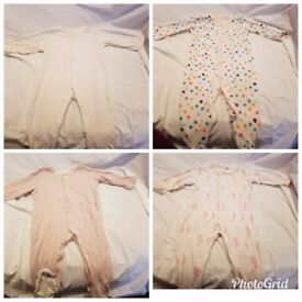 6-9 bundle of baby girl clothes. Good condition. Vary from: next, F&F, George, Tu.