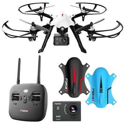 Force1 F100 GHOST BRUSHLESS 1080P HD ACTION CAMERA DRONE Free Shipping!