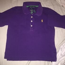 Boys Ralph Lauren long sleeved polo