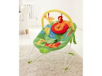 Mothercare jumgle themed baby bouncer