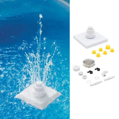 Floating Decorative Pool Fountain 3-Tier Swimming Pool Fountain Kit, Easy Set Up