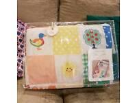 Little bird bed in a bag