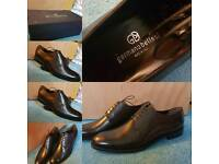 new germano bellesi mens leather shoes