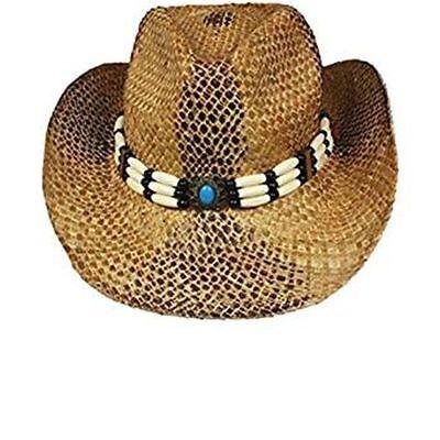 Stroh-cowboy-hut (DISTRESS WESTERNHUT STROH COWBOYHUT RODEO WCH AB 017-BLA)