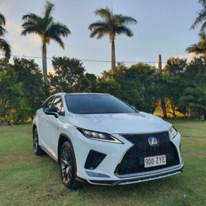 2019 Lexus RX GGL25R RX350 F Sport White 8 Speed Sports Automatic Wagon Alberton Gold Coast North Preview