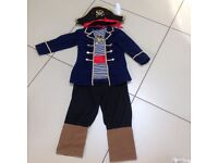 Pirate outfit age 3-5