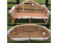 Deluxe teak benches