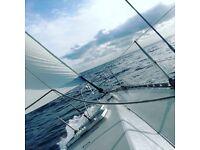 Jeannuea sailing boat yacht