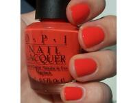 OPI Nail Polish varnish- atomic Orange