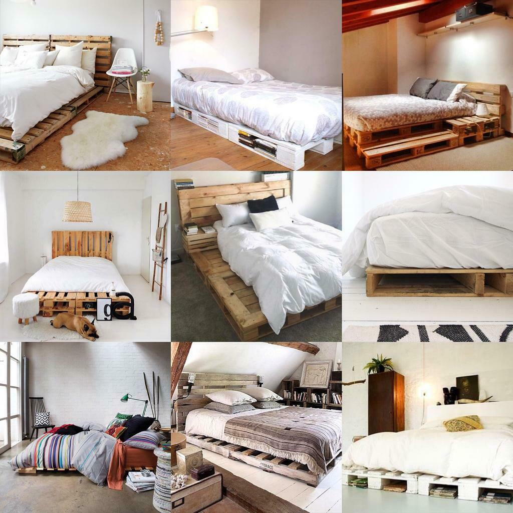 Wood Pallet Diy Furniture Home Decor Bed Frame Daybed Couch Coffee Table Standing Garden Shelf In Old Street London Gumtree
