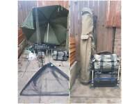 Carp setup . ESP.fox . Wychwood. Greys