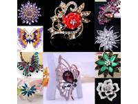 Large cheap brooches