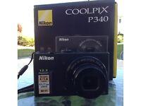 Digital Camera Nikon P340
