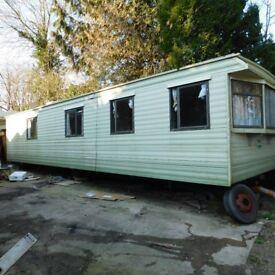 35FT,3 BEDROOMS, STATIC CARAVAN,GRAB A BARGAIN