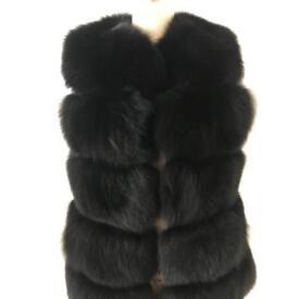 Vest Real Fur Fox BRAND NEW