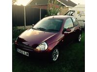 FORD KA - LOW MILEAGE - MOT MAY 2017 - VERY GOOD CONDITION