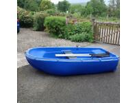 Roller wheel dinghy.used once