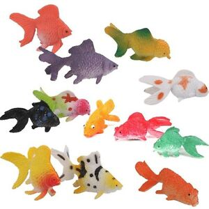 Plastic toy fish ebay for Small plastic fish