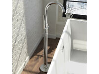 Gladstone II Freestanding Bath Mixer Tap with Hand Held Shower Head BRAND NEW & BOXED