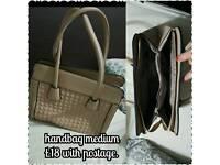 Ladies handbag medium sized