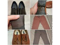loads of mens clothing and shoes