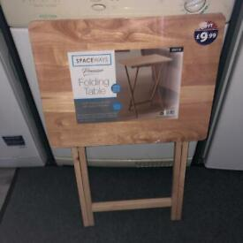 Brand new foldable side table