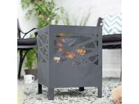 La Hacienda Fire basket Steel Firepit