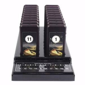 20 Wireless Restaurant Guest Pager System FREE SHIPPING!!