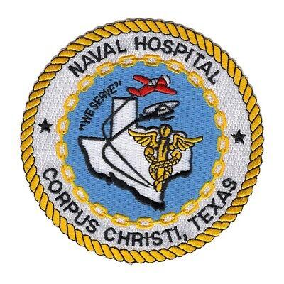 Naval Hospital CORPUS CHRISTI TEXAS Military Patch USN TX